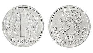 1 markka, 1965 (tyyppi 1964)