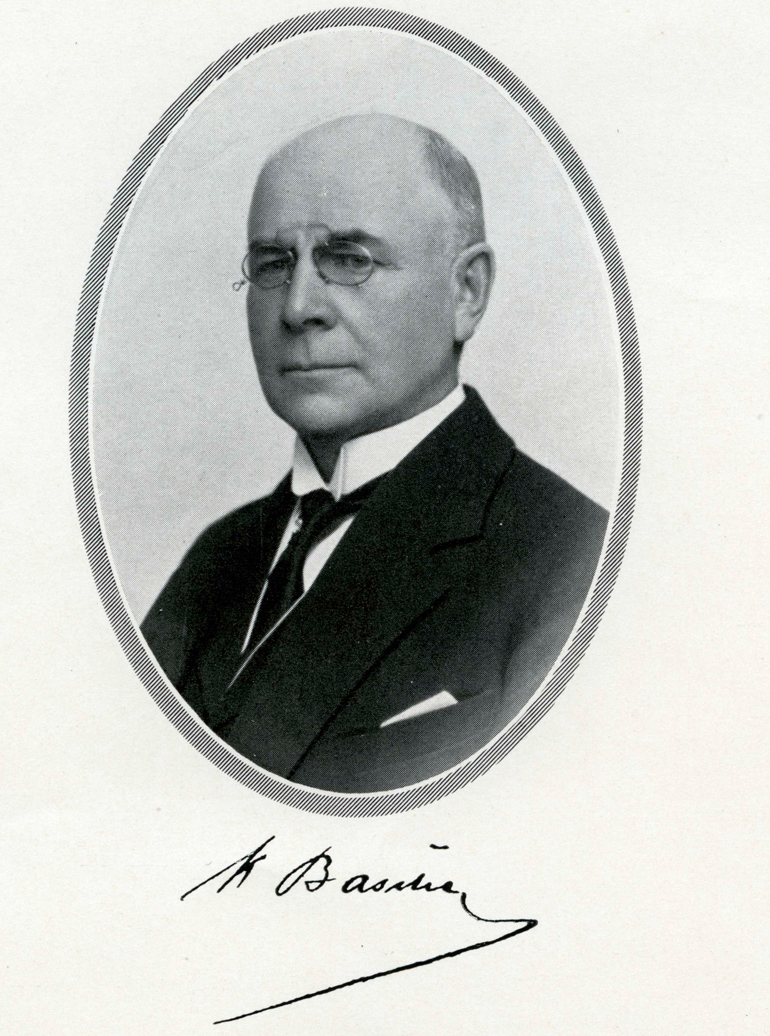 K. A. Basilier, member of the Board of the Bank of Finland. Bank of Finland.