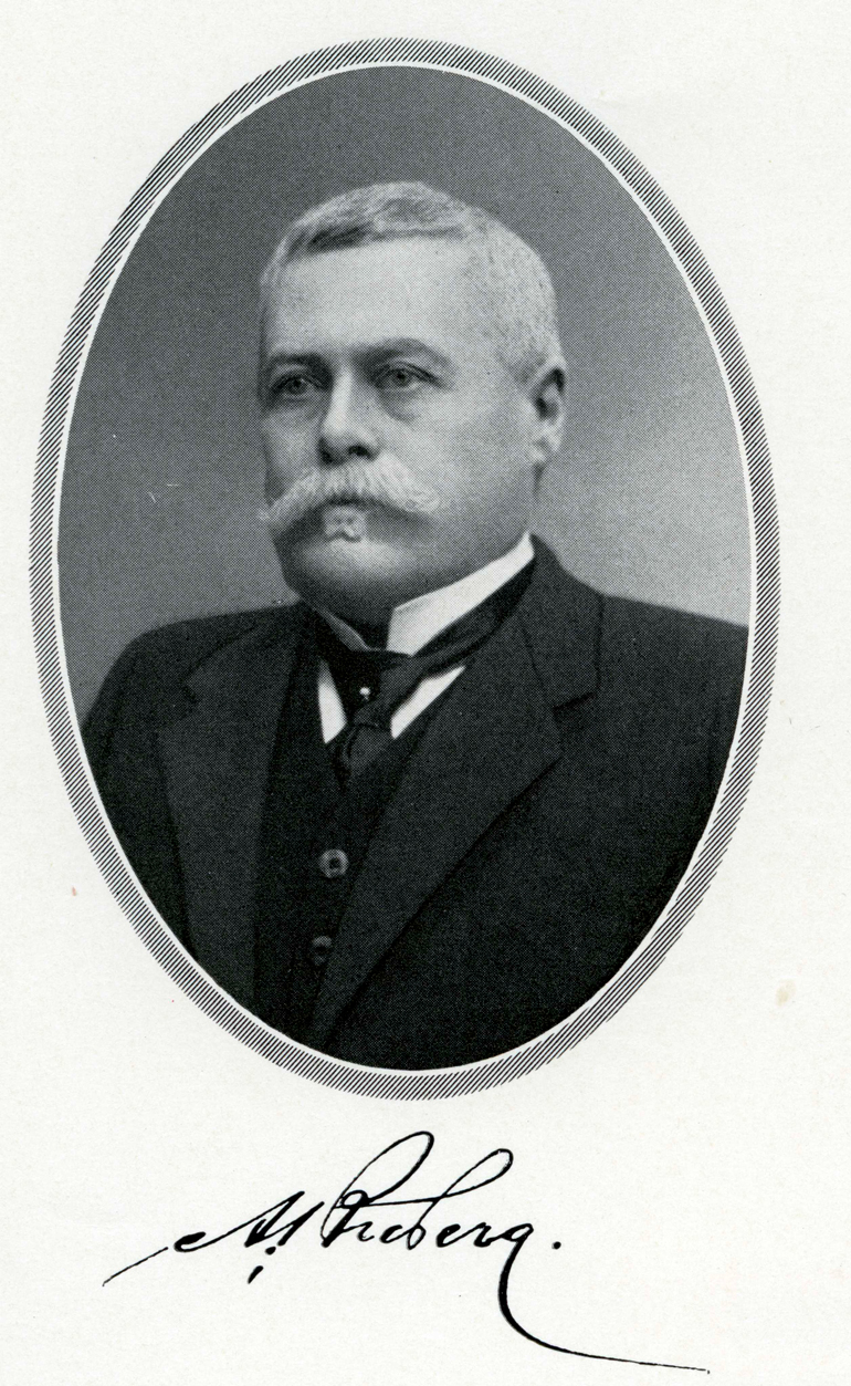 Uno Broberg, member of the Board of the Bank of Finland. Bank of Finland.