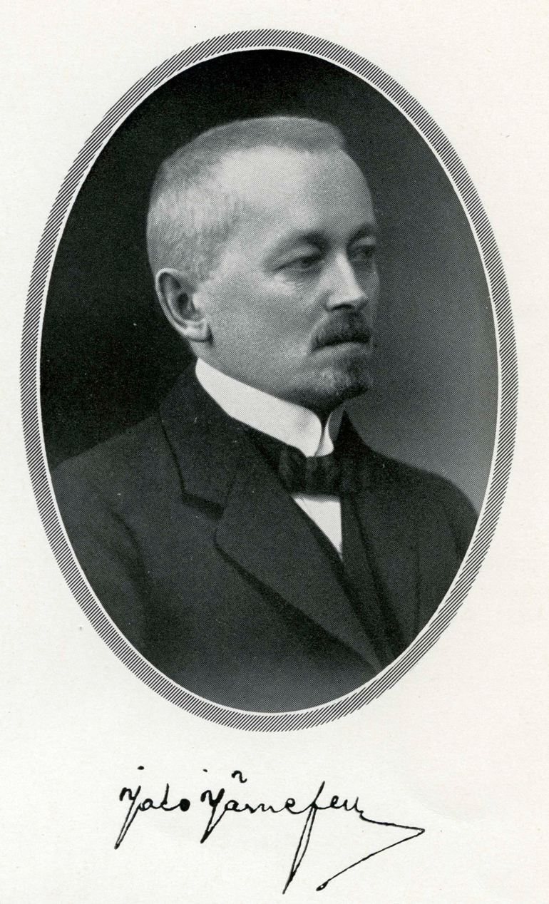 J. W. Järnefelt, member of the Board of the Bank of Finland. Bank of Finland.
