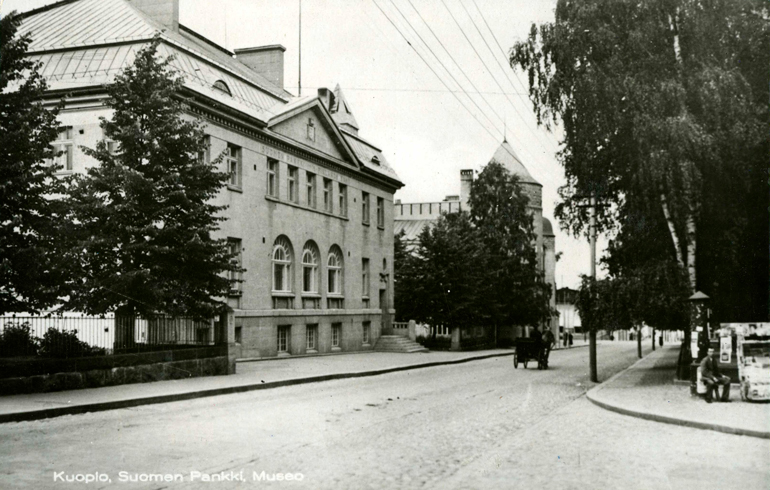 The Kuopio branch. Bank of Finland.