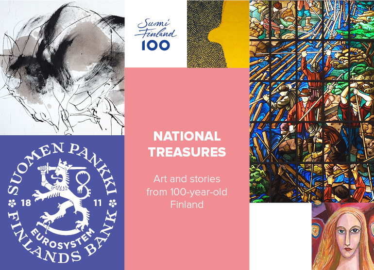 Bank of Finland web art gallery